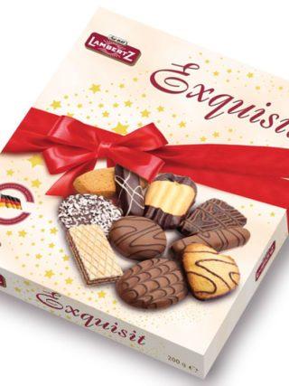 Šokolaadiga küpsiste valik Exquisit 200g Lambertz