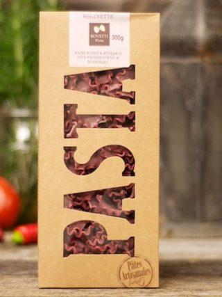 Reginette pasta roseepipra ja rosmariiniga 300g Bovetti