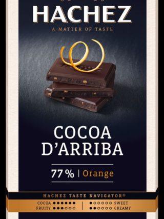 77% d'Arriba šokolaad apelsiniga 100g