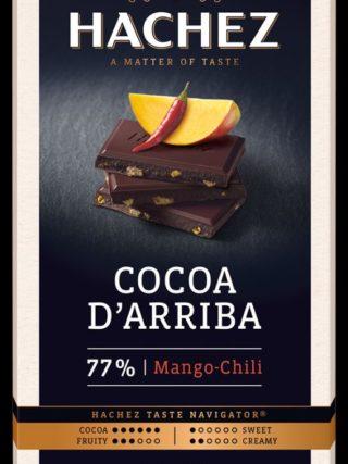 77% d'Arriba šokolaad mango & tšilliga 100g