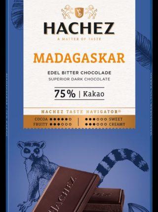 75% šokolaad Madagaskar 100g Hachez