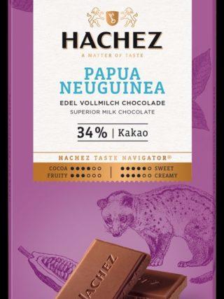 34% šokolaad Paapua Uus-Guinea 100g Hachez