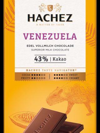 43% šokolaad Venezuela 100g Hachez