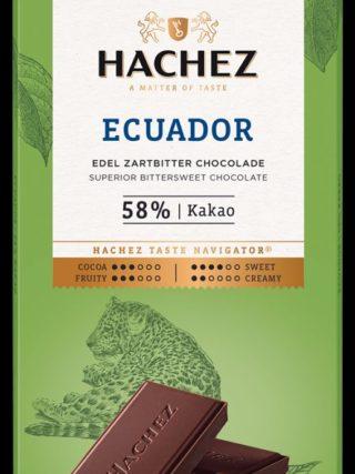58% šokolaad Ecuador 100g Hachez