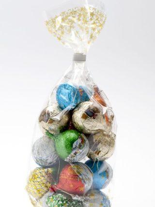 Šokolaadist jõulukaunistused pakis 200g Klett