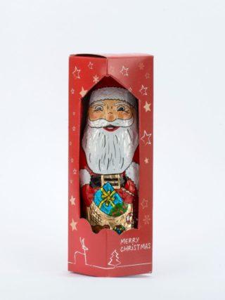 Šokolaadist jõuluvana kinkekarbis 100g Klett