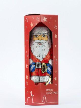 Šokolaadist jõuluvana kinkekarbis 150g Klett