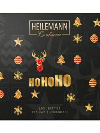 Tumedast šokolaadist pralineedega advendikalender 330g Heilemann