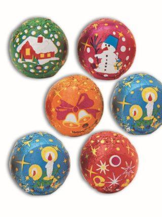 Väikesed šokolaadist jõulupallid 5,6g Klett