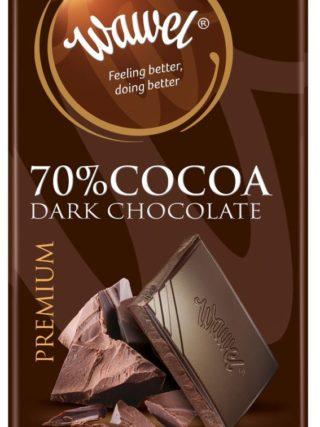 Tumeda šokolaadi tahvel 100g, 70% kakaod
