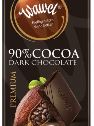 Tumeda šokolaadi tahvel 100g, 90% kakaod