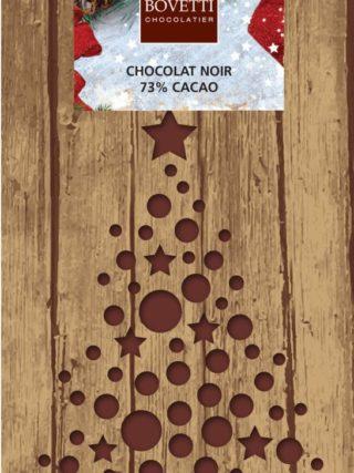 Jõuludisainiga tume või piimašokolaad 100g