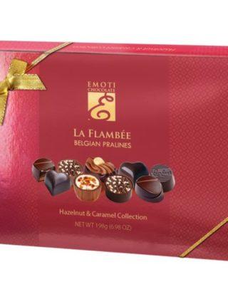 Emoti La Flambee šokolaadiassortii sarapuupähkli ja karamelliga 198g