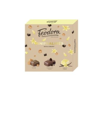 Rich & Creamy minipralineed 80g Feodora