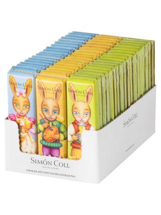 "Šokolaad ""Pühadejänes"" 3x18g Simon Coll"