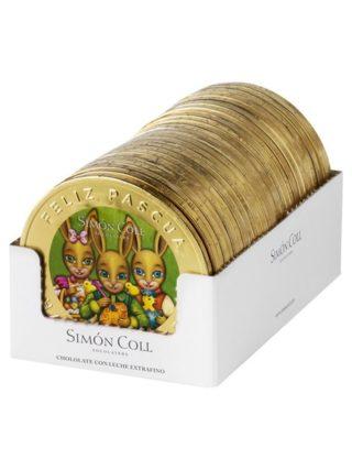 Šokolaadist lihavõttemedal 60g Simon Coll