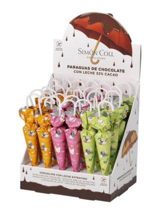Šokolaadist Lihavõtte vihmavarjud 35g Simon Coll