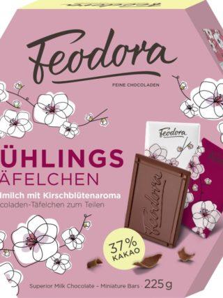 Kevadised minišokolaadid kirsiõitega 225g Feodora